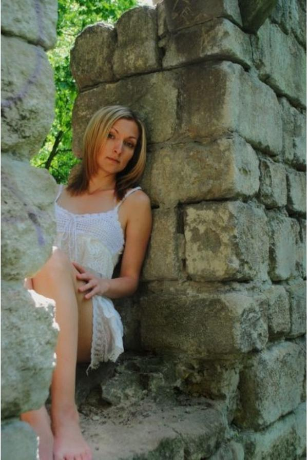 Frau aus der Ukraine oder