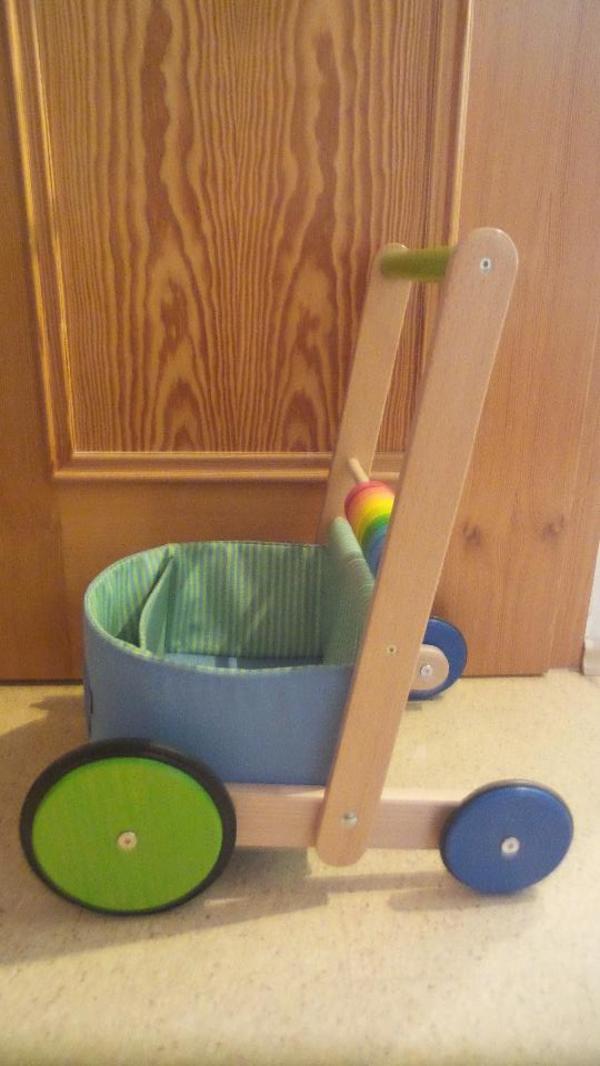 Lauflernwagen Holz Gebraucht Haba ~ HABA Lauflernwagen Farbenspaß