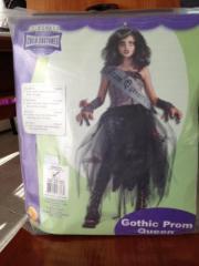 """Halloween Kostüm Mädchen Deluxe Mädchen Halloween Kostüm \""""Gothic Prom Queen\"""", Größe Medium für ca. 5-7 Jahre. Enthält Kleid, Schärpe, Handstulpen und Corsage (die Tiara ... 14,- D-85622Vaterstetten Weißenfeld Heute, 14:46 Uhr, Vaterstetten Weißenfeld - Halloween Kostüm Mädchen Deluxe Mädchen Halloween Kostüm """"Gothic Prom Queen"""", Größe Medium für ca. 5-7 Jahre. Enthält Kleid, Schärpe, Handstulpen und Corsage (die Tiara"""