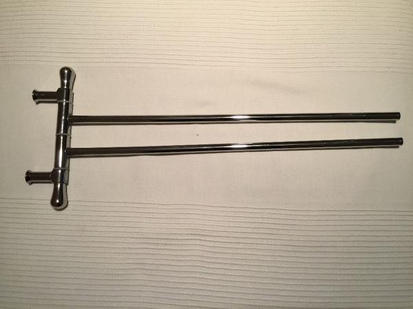 handtuchhalter 2 armig edelstahl in n rnberg bad einrichtung und ger te kaufen und. Black Bedroom Furniture Sets. Home Design Ideas