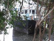 Hausboot,Wohnboot,Wohnschiff