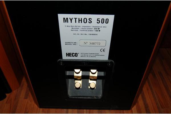 heco mythos 500 standlautsprecher kirsche sehr gute. Black Bedroom Furniture Sets. Home Design Ideas