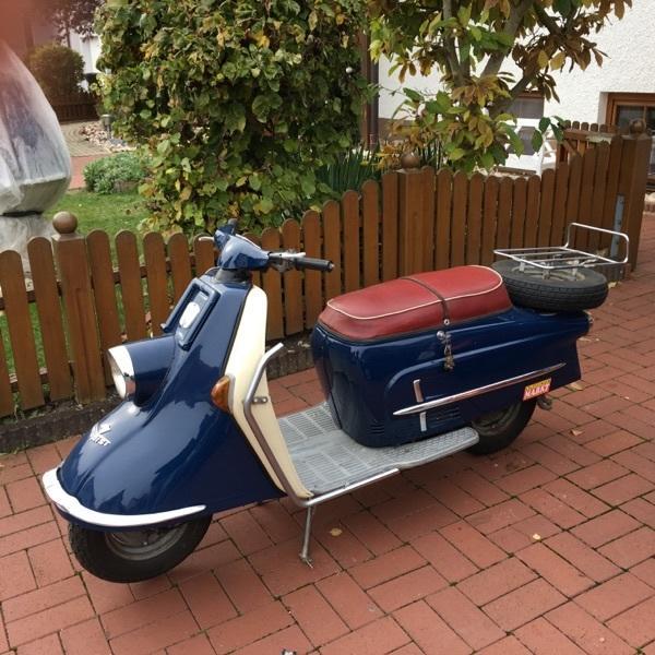 heinkel tourist 103 a2 in d rfles esbach oldtimer. Black Bedroom Furniture Sets. Home Design Ideas