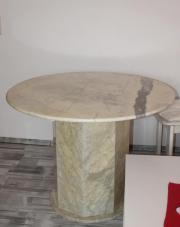 Marmortisch rund haushalt m bel gebraucht und neu for Marmortisch rund