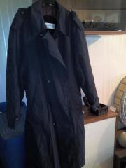 Herrenbekleidung, Hemden, Wintermantel,