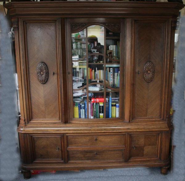 herrenzimmer um 1900 in karlsruhe wohnzimmerschr nke. Black Bedroom Furniture Sets. Home Design Ideas