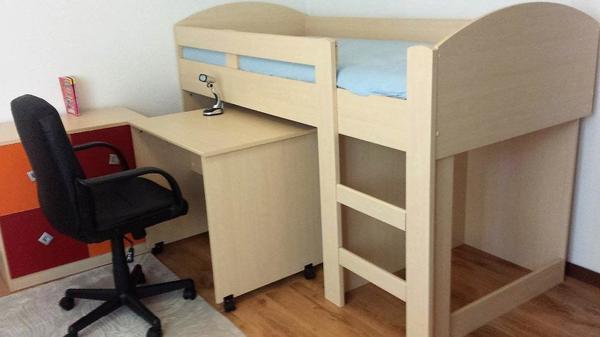hochbett 90x200 kaufen gebraucht und g nstig. Black Bedroom Furniture Sets. Home Design Ideas