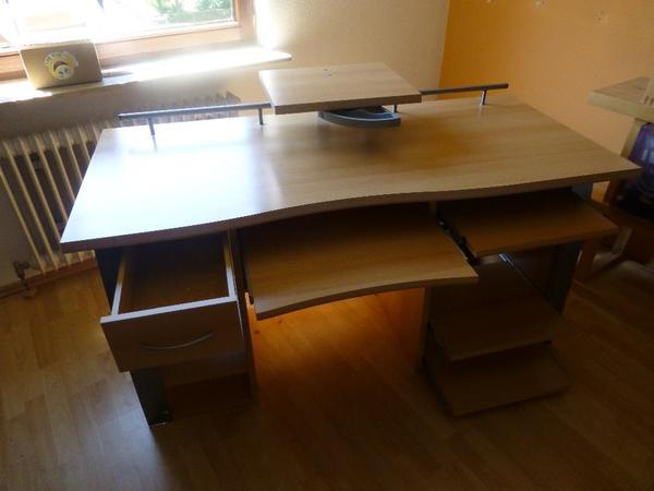 schreibtisch computer neu und gebraucht kaufen bei. Black Bedroom Furniture Sets. Home Design Ideas