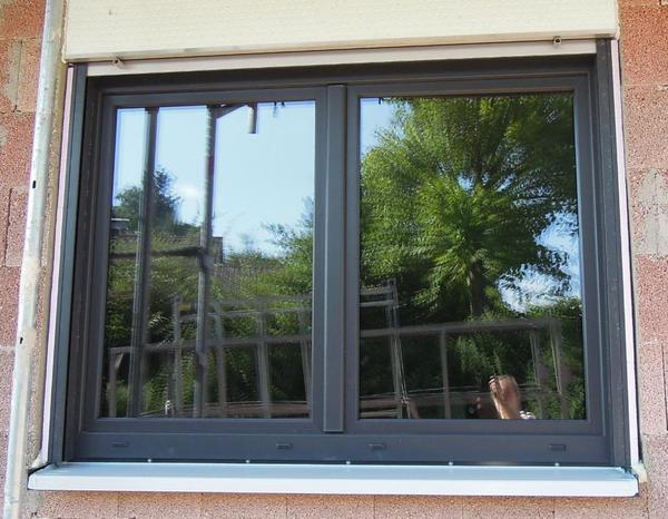 Hochwertiges fenster kunststoff anthrazit 1 51x1 42 in for Fenster anbieter