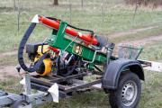 Holzspalter,Traktor,Kipper,