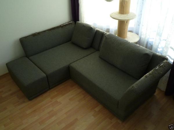 Hülsta Wohnlandschaft Eckcouch L-Couch Ecksofa grau choco 220x170 gebraucht kaufen  40699 Erkrath