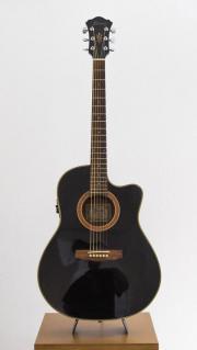 Ibanez Akustik Gitarre mit Koffer Gebrauchte Ibanez Akkustikgitarre (AE600BK) in schwarz. Kleiner Body mit Tonabnehmer. Dabei ist natürlich auch der Koffer. Gitarre und Koffer haben ... 130,- D-91315Höchstadt Heute, 17:25 Uhr, Höchstadt - Ibanez Akustik Gitarre mit Koffer Gebrauchte Ibanez Akkustikgitarre (AE600BK) in schwarz. Kleiner Body mit Tonabnehmer. Dabei ist natürlich auch der Koffer. Gitarre und Koffer haben
