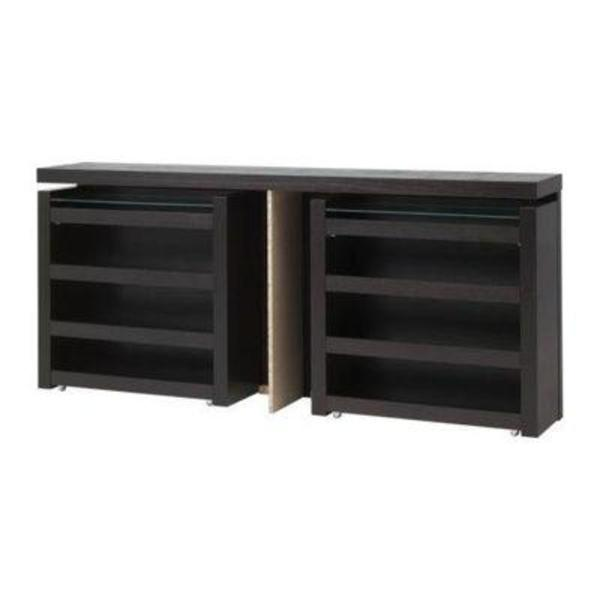 ikea malm kopfteil in schwarz braun 140 cm zu verkaufen in. Black Bedroom Furniture Sets. Home Design Ideas