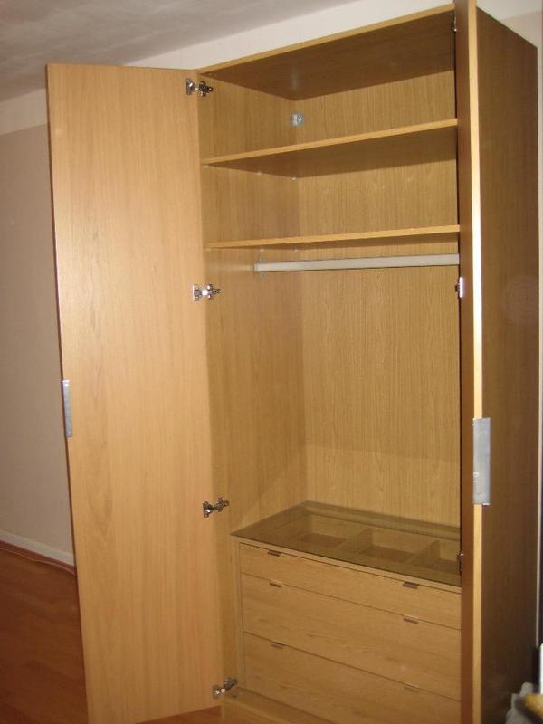 ikea pax malm kleiderschrank in mannheim ikea m bel kaufen und verkaufen ber private. Black Bedroom Furniture Sets. Home Design Ideas