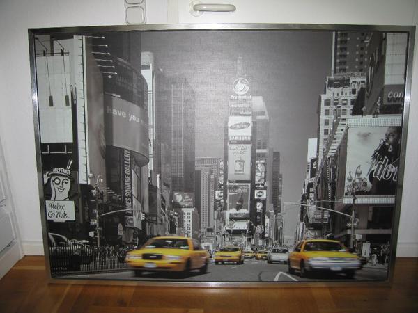 Ikea stolmen ikea tisch und ikea times square bild in for Computertisch 1m breit