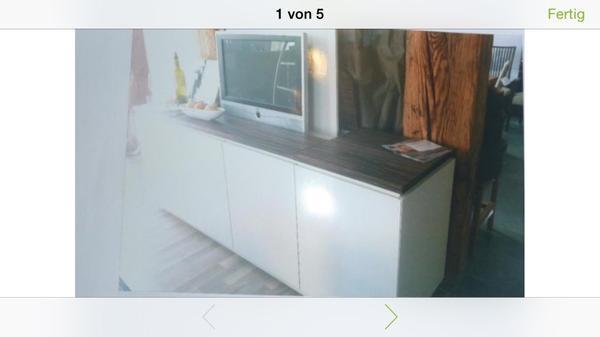interl bke sideboard ausfahrbarer tv halter. Black Bedroom Furniture Sets. Home Design Ideas