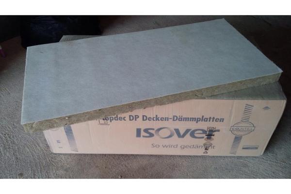 isover topdec dp 3 d mmplatte mineralwolle mit vlies in. Black Bedroom Furniture Sets. Home Design Ideas
