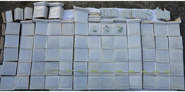 kachelofen ofenkacheln 4 qm in m nchen fliesen keramik ziegel kaufen und verkaufen ber. Black Bedroom Furniture Sets. Home Design Ideas