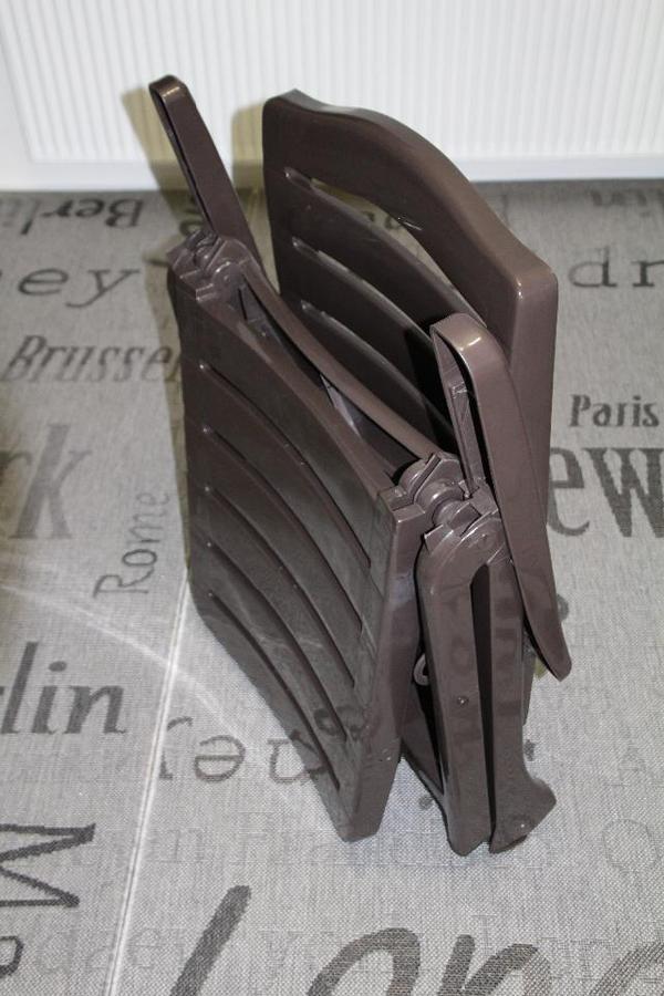 Liegestuhl Klappliegestuhl Metall Holz Oder Kunststoff ~ Kettler Roll Klappliege ( 2 STÜCK VORHANDEN) GUTER ZUSTAND