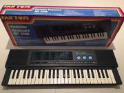 Keyboard MC 2200 - Portable Keyboard von Pantoys zu verkaufen Es handelt sich um ein neuwertiges, tragbares Keyboard von Pan Toys. Es wird durch sechs Batterien betrieben und verfügt über einen Kopfhörer sowie ... 40,- D-85737Ismaning Heute, 16:47 Uhr, Is - Keyboard MC 2200 - Portable Keyboard von Pantoys zu verkaufen Es handelt sich um ein neuwertiges, tragbares Keyboard von Pan Toys. Es wird durch sechs Batterien betrieben und verfügt über einen Kopfhörer sowie