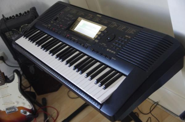 keyboard yamaha psr 730 midi synthesizer top ger t in bad. Black Bedroom Furniture Sets. Home Design Ideas