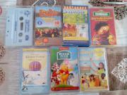 Kinder DVDs, Kasetten