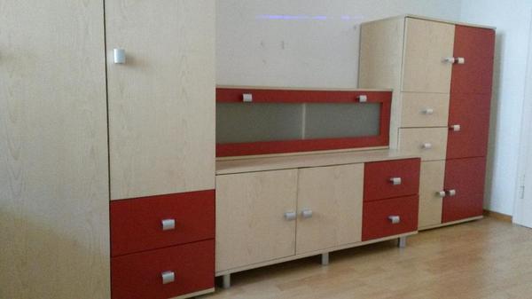 Kinderjugendzimmer schrank 10 jahre alt wegen umzug zu for Wohnwand zu verschenken