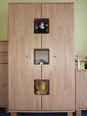 kinderkleiderschrank buche haushalt m bel gebraucht und neu kaufen. Black Bedroom Furniture Sets. Home Design Ideas
