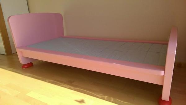 Ikea Kinderzimmer Dekoration ~ kinderbett mammut ikea rosa gut erhaltenes kinderbett 70 160cm