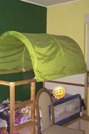 Kinderhoch-bzw. Kinderhimmelbett