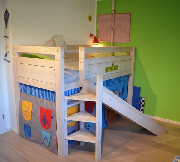 Bett mit rutsche gebraucht paidi hochbett gebraucht ondo for Flexa hochbett ikea