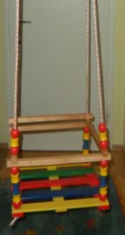 kinderschaukel holz kinder baby spielzeug g nstige angebote finden. Black Bedroom Furniture Sets. Home Design Ideas