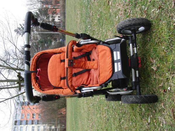 kinderwagen von hartan topline cl in der farbe orange mit umfangreichem zubeh r in n rnberg. Black Bedroom Furniture Sets. Home Design Ideas