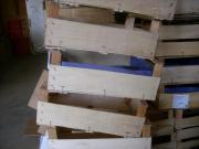 Kirschensteigen, Holzsteigen, Holzkisten