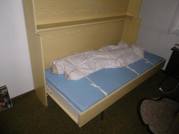 schrankbett klappbett kaufen gebraucht und g nstig. Black Bedroom Furniture Sets. Home Design Ideas