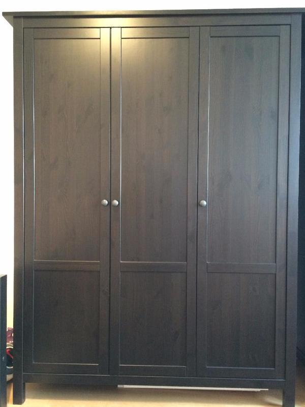 Hemnes schwarzbraun kaufen gebraucht und g nstig for Ikea kleiderschrank braun