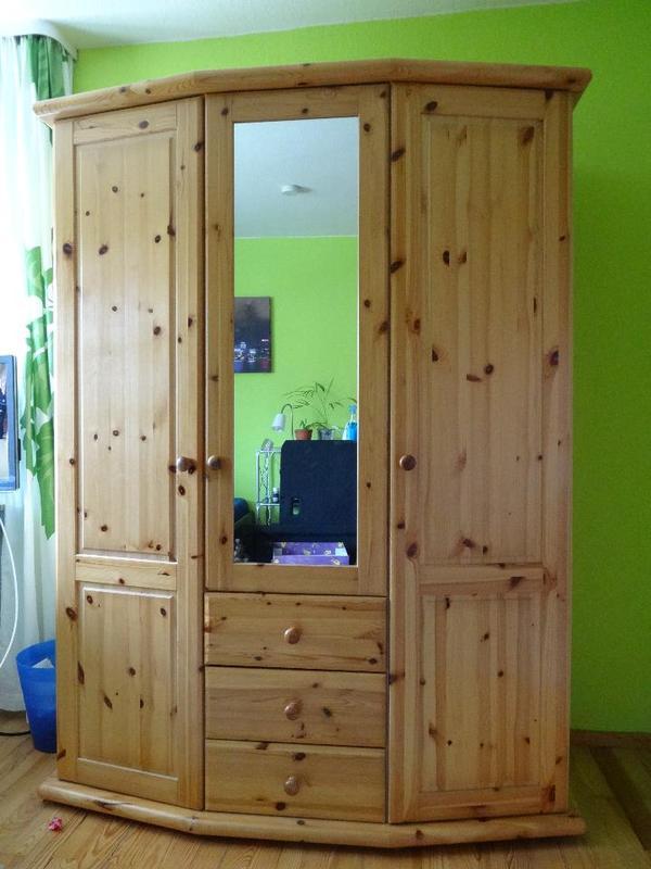kleiderschrank massivholz neu und gebraucht kaufen bei. Black Bedroom Furniture Sets. Home Design Ideas