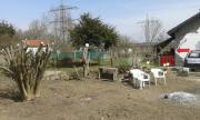 kleiner Garten zu