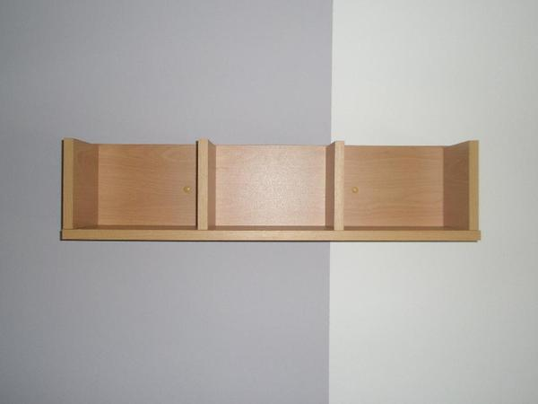 kleines wandregal buche in sinsheim regale kaufen und. Black Bedroom Furniture Sets. Home Design Ideas