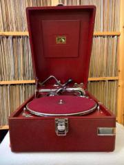 Koffergrammophon HMV 102