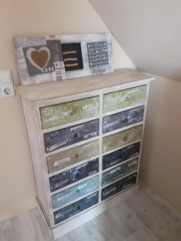 kommode vintage wei gebraucht kaufen nur 4 st bis 70 g nstiger. Black Bedroom Furniture Sets. Home Design Ideas