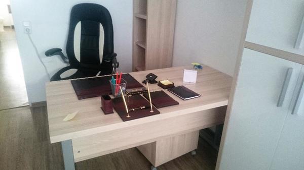 komplette buroeinrichtung gebraucht kaufen nur 4 st bis 65 g nstiger. Black Bedroom Furniture Sets. Home Design Ideas