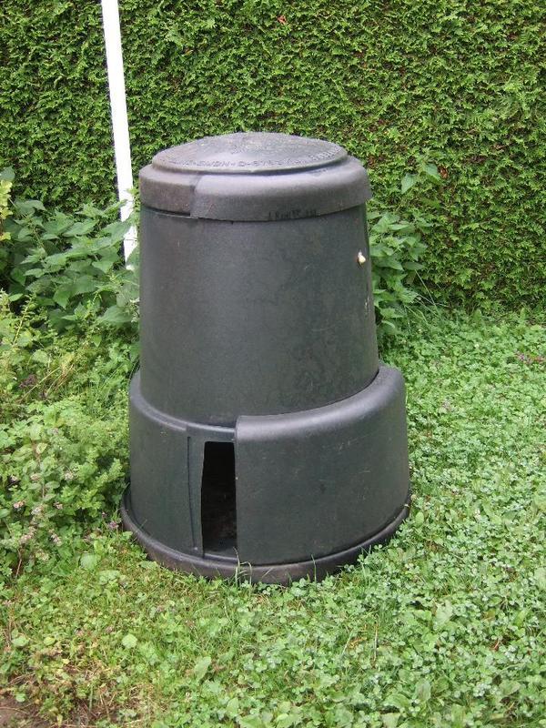 komposter kompostbeh lter gr n in wannweil sonstiges. Black Bedroom Furniture Sets. Home Design Ideas