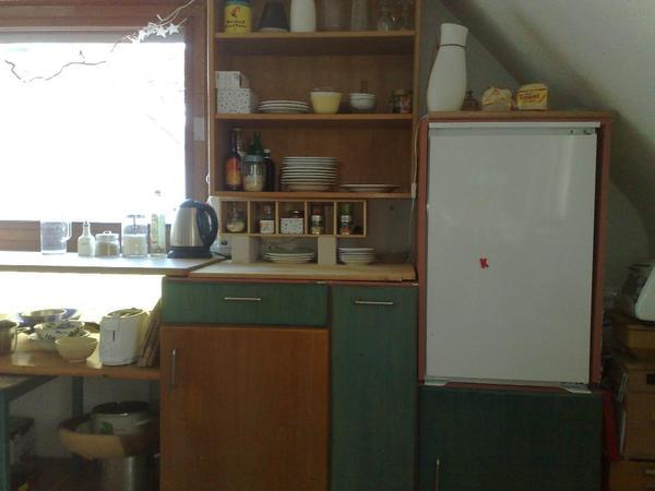Küchenzeile, Front Echtholz Buche in Mannheim Küchenzeilen, Anbauküchen kaufen und verkaufen