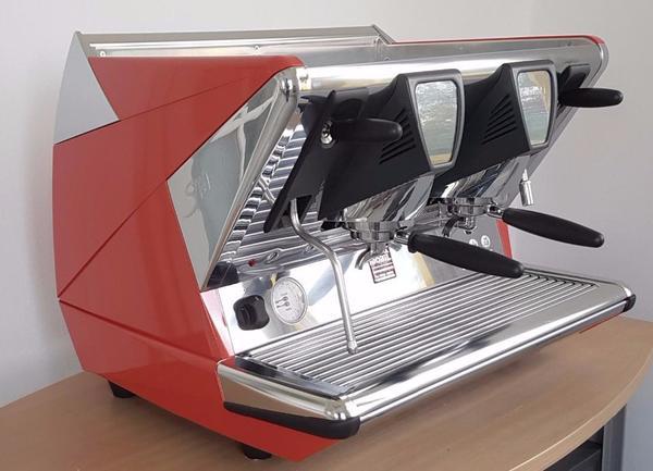 la san marco espressomaschine 100 touch sprint 2 gruppen led in bamberg kaffee. Black Bedroom Furniture Sets. Home Design Ideas