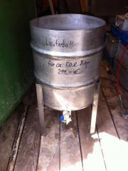 Läuterbottich Bier brauen