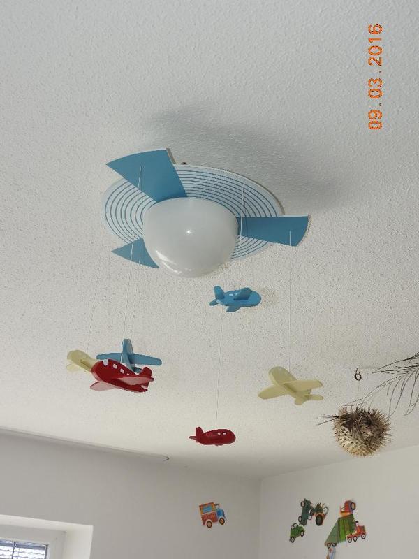 lampe kinderzimmer deckenleuchte flugzeuge in feldkirch lampen kaufen und verkaufen ber. Black Bedroom Furniture Sets. Home Design Ideas