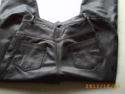 Lederhose schwarz Gr.