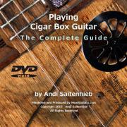 Lehr-DVD, Zigarrenboxgitarre,