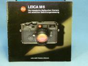 Leica M6 Originalprospekt